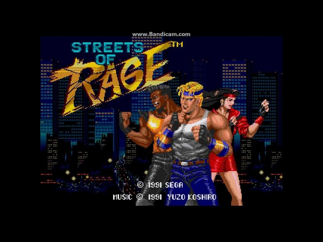 Streets Of Rage Opening Theme (720p 3D)