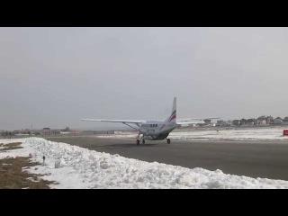 Взлёт Cessna Grand Caravan из аэропорта Саратов-Центральный