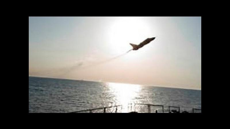 ВМС США опубликовали новое видео с пролетом Су-24 над эсминцем Donald Cook