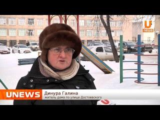 Жители по улице Достоевского жалуются, что в результате уборки была захламлена вся детская площадка