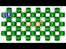 Монастырское плетение крестиком бисером двумя иглами Right angle weave 3D урок