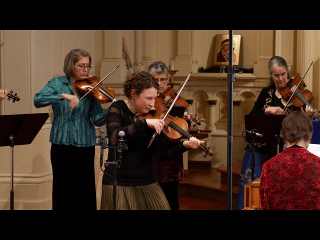 Vivaldi: Winter (the Four Seasons), 1st mvt. Cynthia Freivogel Voices of Music 4K UHD RV 297