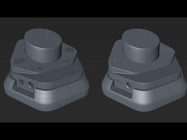 Cinema 4D Hard Surface Modeling Tutorial Part 1