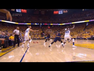 Draymond Green Flops Big Time & Draws the Foul | Cavaliers vs Warriors | Game 1 | 2016 NBA Finals
