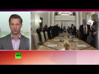 Госсекретарь США Джон Керри обсуждает в Москве вопрос урегулирования кризиса в Сирии