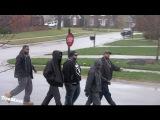 Linkin Bridge Tough guys bring the HOOD TO THE 'BURBS AT CHRISTMAS - PRANK!
