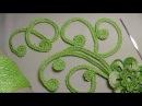 Как связать ЗАВИТОК для ирландского кружева - вязание крючком для начинающих - Iri...