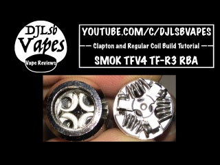 Clapton and Regular Coil Build Tutorial on the SMOK TFV4 TF-R3