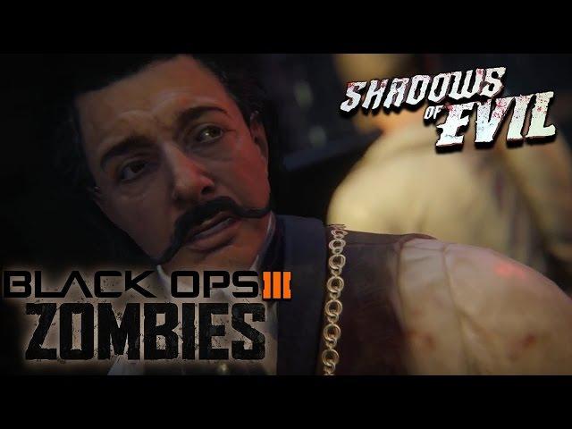 Call of duty: Black ops 3, зомби-режим. Shadows of Evil. Пасхалка (вся игра).