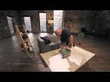 Упражнения для спины: тяга пачки книг к поясу | Домашние тренировки с Денисом Семенихиным #7