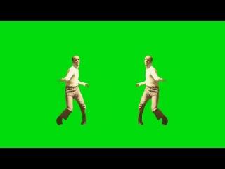 Homem Dançando #1 - Man Dancing #1 [Fundo Verde - Green Screen]