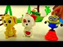 Dessins animés éducatifs pour les enfants. Les animaux domestiques de la ferme.