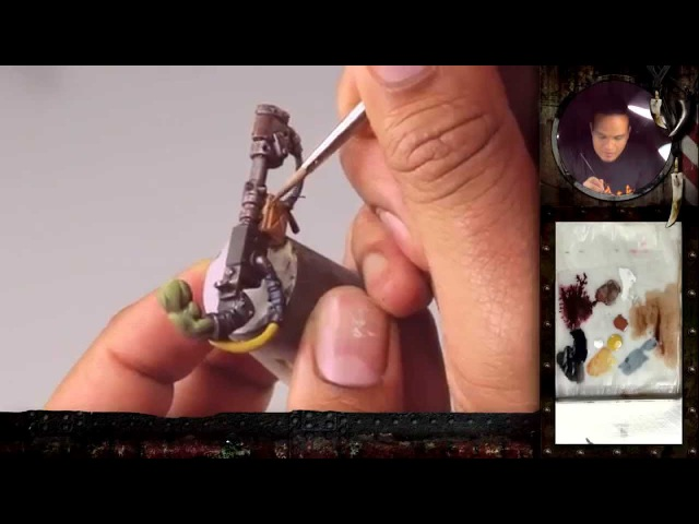 PBCC 001 Ork Burna Boy Part 2 How to paint True Metal Weathering Effects