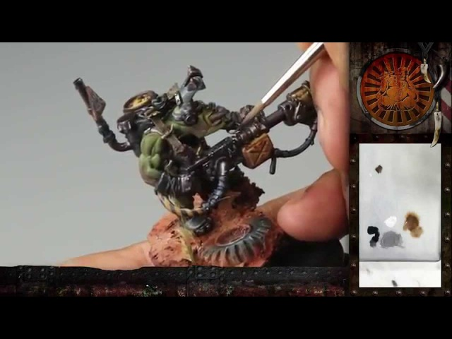 PBCC 001 Ork Burna Boy Part 3 Painting awesome free hand oven gloves D