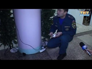 Воркута. Внеплановая противопожарная проверка (Выпуск 20.12.15)