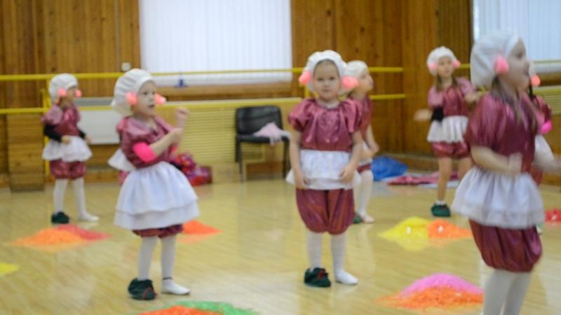 Свинки-балеринки. Открытый урок Ритм.