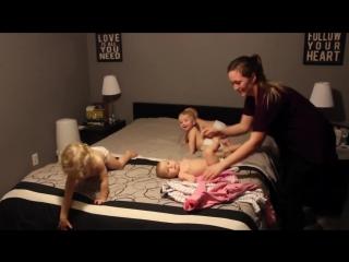 Мастер-класс от супермамы: как быстро и весело уложить спать 4 детей