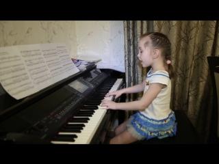 Она вернется. Дети поют. Виктория Викторовна 6 лет