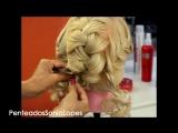 Penteado 3 tranças - Por Sonia Lopes