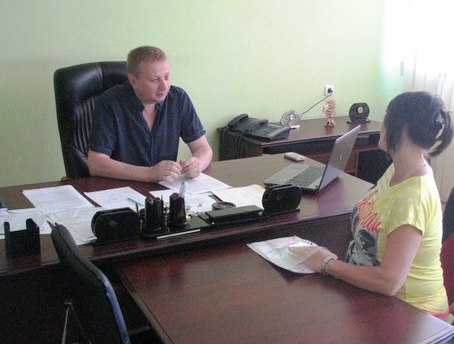 Перший заступник  голови Печенізької райдержадміністрації Никитченко М.А провів особистий прийом громадян