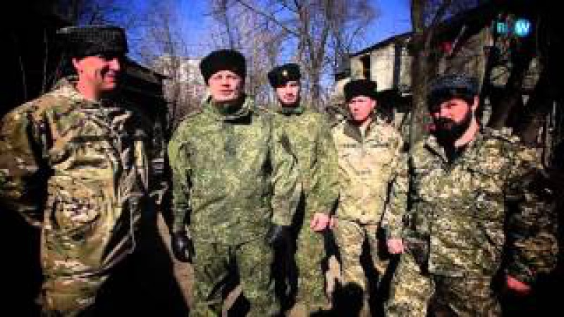 Смотр казаков крымского казачьего полка им. Генерала Бакланова. СДД