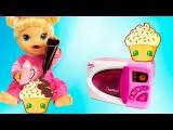 Видео с куклами Бэби Элайв Соня делает кексы игрушечная кухня игры для девочек Baby Alive