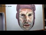 Petr Cech by Mathew Vieira Time Lapse