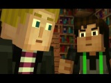 ✔ Мультик ИГРА для Детей - СТОРИ МОД  МАЙНКРАФТ - МОНСТР на СВОБОДЕ # 3 Minecraft Story Mode ✔