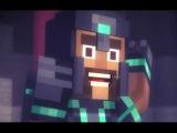 ✔ Мультик ИГРА для Детей - СТОРИ МОД  МАЙНКРАФТ - Тайный Незнакомец # 2 Minecraft Story Mode ✔