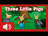 The Three Little Pigs - Fairy tales and stories for children