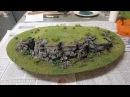 How to make cork bark rock faces for your wargaming scenery