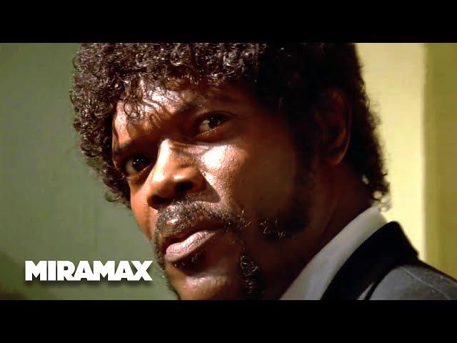 Pulp Fiction 'Say What Again' HD Samuel L Jackson John Travolta MIRAMAX