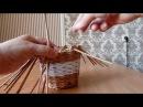 Плетение из газет ЧАШКА с кофе мастер класс корзина