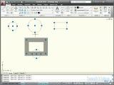 Autodesk AutoCAD® 2010 - Выделение методом «Пересечение»