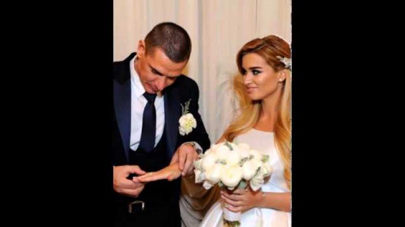 Ксения Бородина и Курбан Омаров: первые фото с бракосочетания