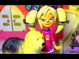 Как девочки играют в куклы!  Роза Барбоскина и карта. Это детское видео снято детьми для детей!