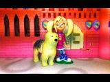 Как девочки играют в куклы! Принцесса Роза Барбоскина. Это детское видео снято детьми для детей!