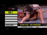 UFC Now Ep. 319 Top 5 Rare Submissions ufc now ep. 319 top 5 rare submissions