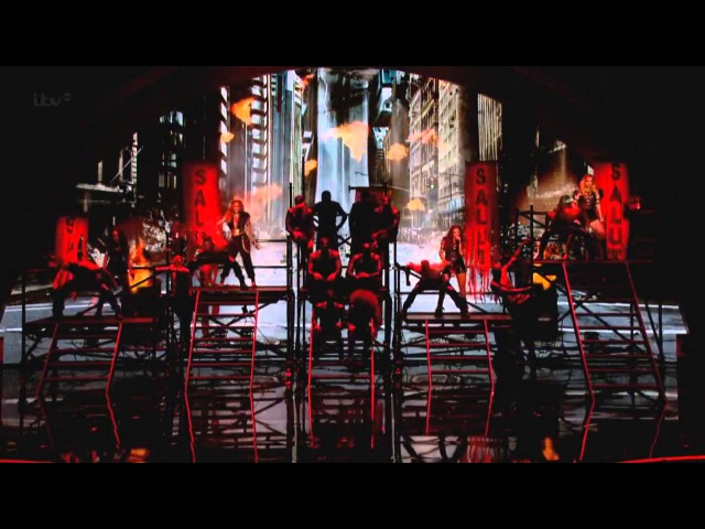 Little Mix Diversity - Britain's Got Talent 2014 Final HD