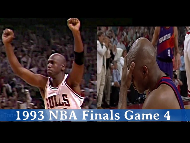 1993 NBA Finals Game 4 - Michael Jordan 55 PTS Game Winner vs Charles BARKLEY