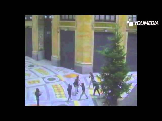Napoli, il furto dell'Albero di Natale nella Galleria Umberto I