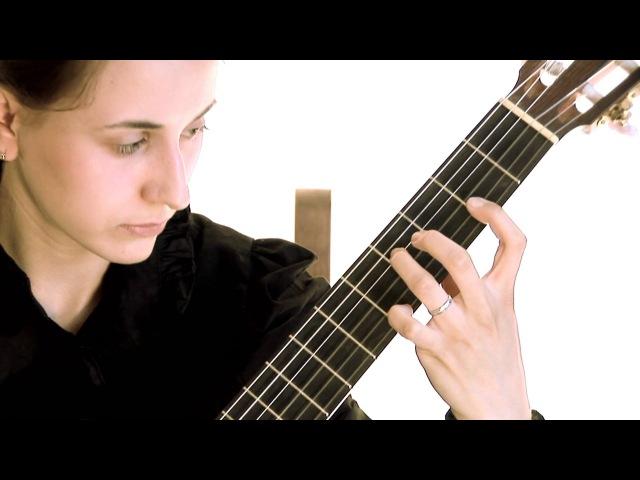Roland Dyens, Songe capricorne, classical guitar Nataly Makovskaya