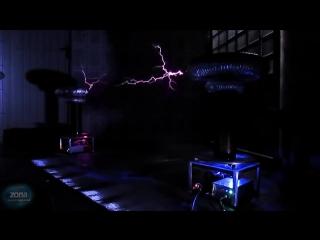 Музыка электричества.Пираты Карибского Моря на катушке Тесла