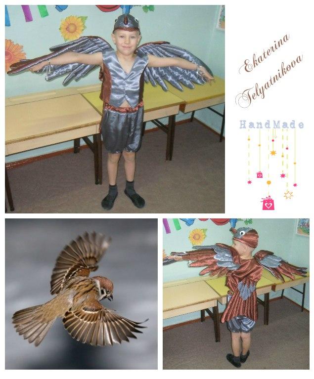 Как сделать костюм для птицы 147