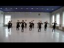 Репетиция к зачёту по танцу. 1-ый курс, мастерская И.В.Ляха