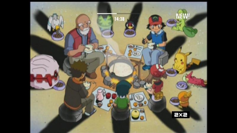 Покемон 6 сезон 19 серия (озвучка 2х2)