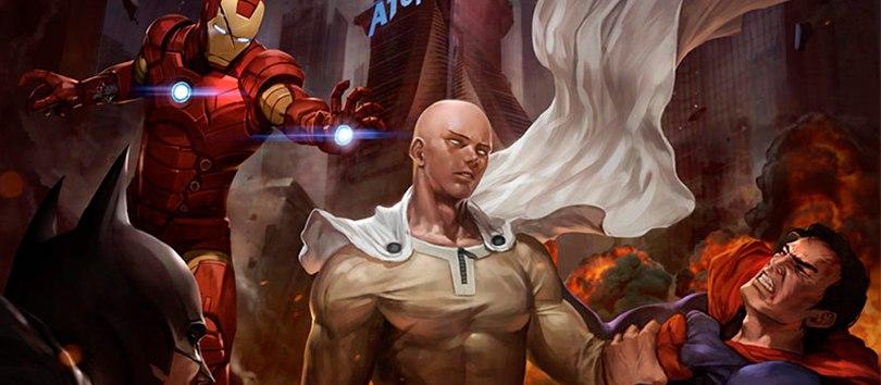 Самый сильный супергерой — One-Punch Man