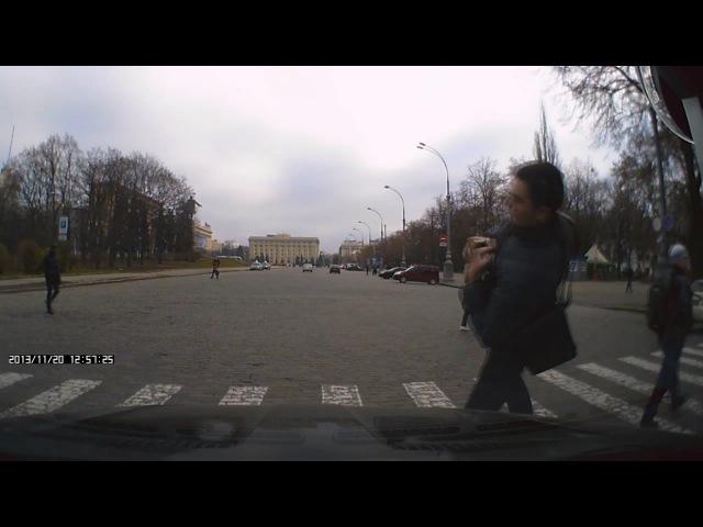 НЕУДАЧНАЯ ПОДСТАВА от пешехода