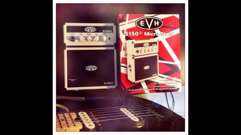 EVH 5150iii Micro Stack Unboxing LIVE 4/7/16 EVHGEAR VANHALEN JOHNNYBEANE