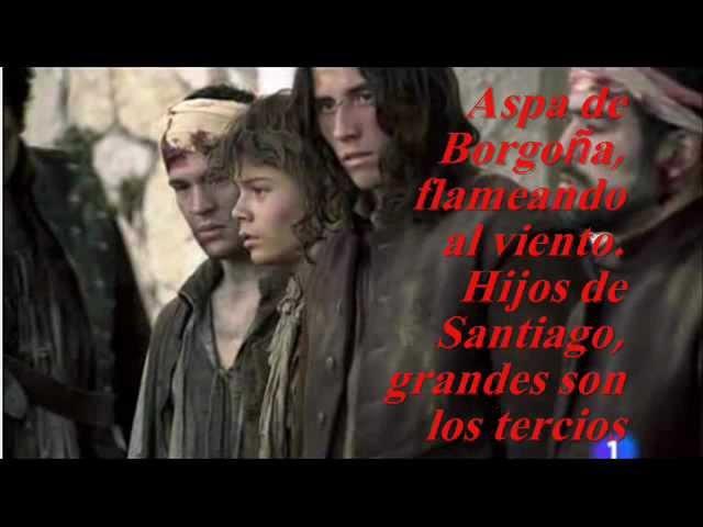 Aguila Roja - Himno de los tercios (Letra)